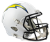 Los Angeles Chargers Speed Replica Helmet