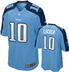 Tennesee Titans - J. Locker #10 Home Jersey